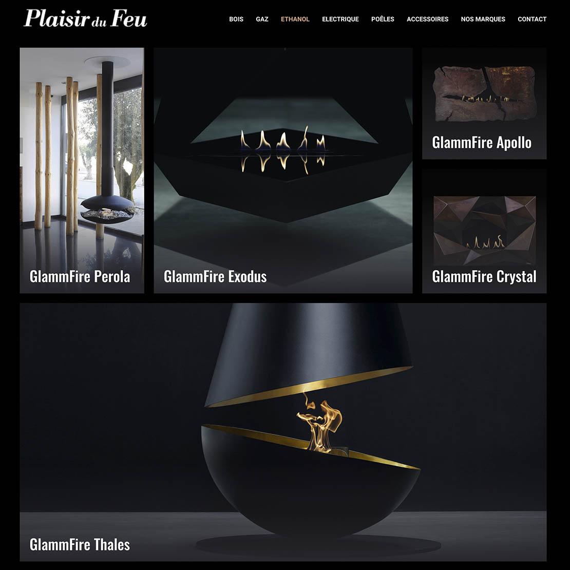 site web plaisir du feu