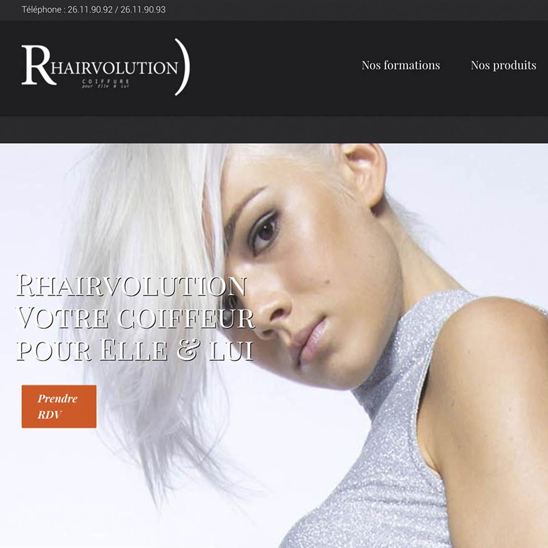 site web Rhairvolution