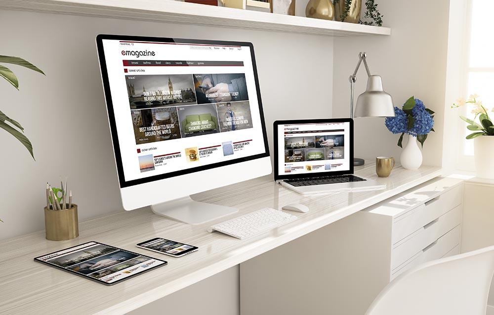 site web by UX Design